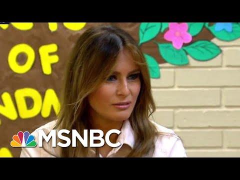 Melania Trump's Jacket Sends Mixed Border Messages   The Last Word   MSNBC