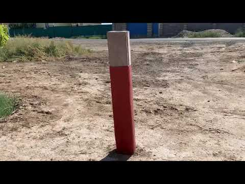 Железобетонная стойка для опоры воздушной линии электропередачи и подстанции