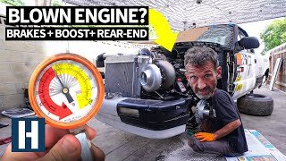 Can This Junkyard LS V8 Take Twin Turbo Power? Compression Testing the Chevy S10