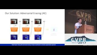 Object Region Mining With Adversarial Erasing: A Simple Classification to ...