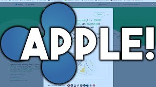 Apple Using Ripple (XRP) Tech + AmericanExpress Partnered With Ripple + XRP Surpassed BTC On Uphold!