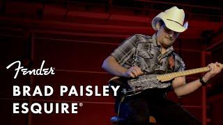 Fender Brad Paisley Road Worn Esquire Video