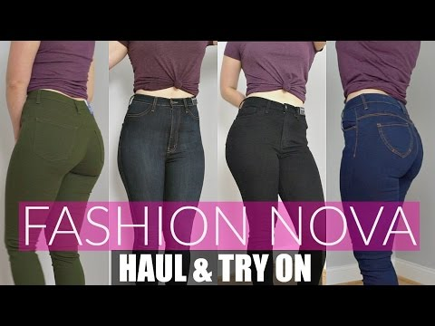 Huge Fashion Nova Try On Haul & Review | Jeans For Curvy Women
