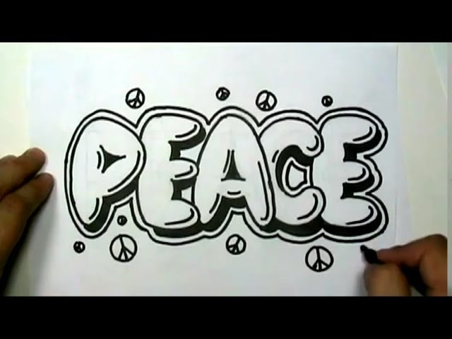 How-to-draw-peace-in
