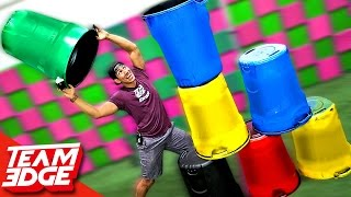 Giant Cup Stacking Challenge!!
