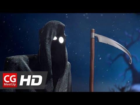 "CGI 3D Animated Shorts HD: ""Santa and Death Short Film"" by Simpals Studio"