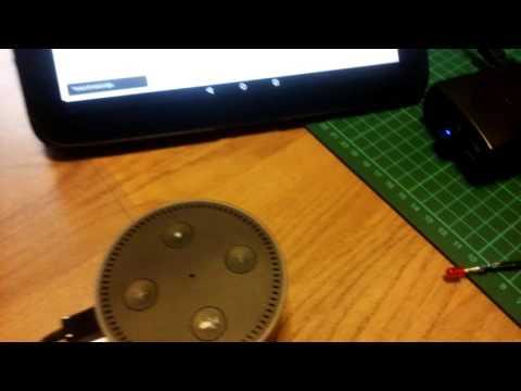Alexa test setup