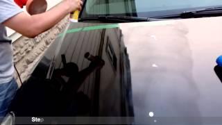000015 RS-B-CC08 Nanotech Crystal Car Wax Application Instruction