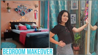 Bedroom Makeover In Budget | Indian Home Tour | Easy Room Decoration Ideas | Bedroom Decor |