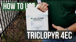 Triclopyr 4EC Herbicide for Tough Broadleaf Weeds