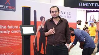 Dr Ibraheem Naeem, Co-Founder, talking about the Fit3D Technology