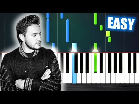 Jonas Blue - Rise - EASY Piano Tutorial by PlutaX