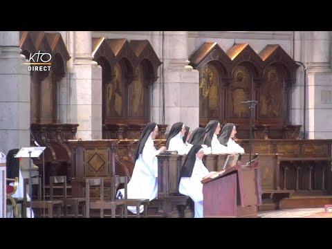 Prière du Milieu du jour du 20 juillet 2021 des Bénédictines du Sacré-Coeur de Montmartre