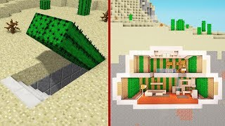 Minecraft: How To Build A Secret Base Tutorial #4 - Easy Hidden House