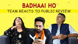 Badhaai Ho Trailer : Ayushmann Khurrana, Neena Gupta and Gajraj Rao react to public review