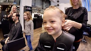 Haircut before traveling VLOG