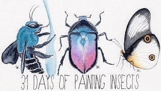 31 Days Of Watercolor Painting | Art Process