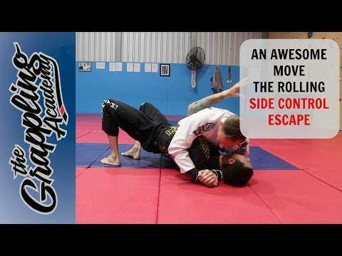 An AWESOME MOVE - The Rolling Side Control Escape
