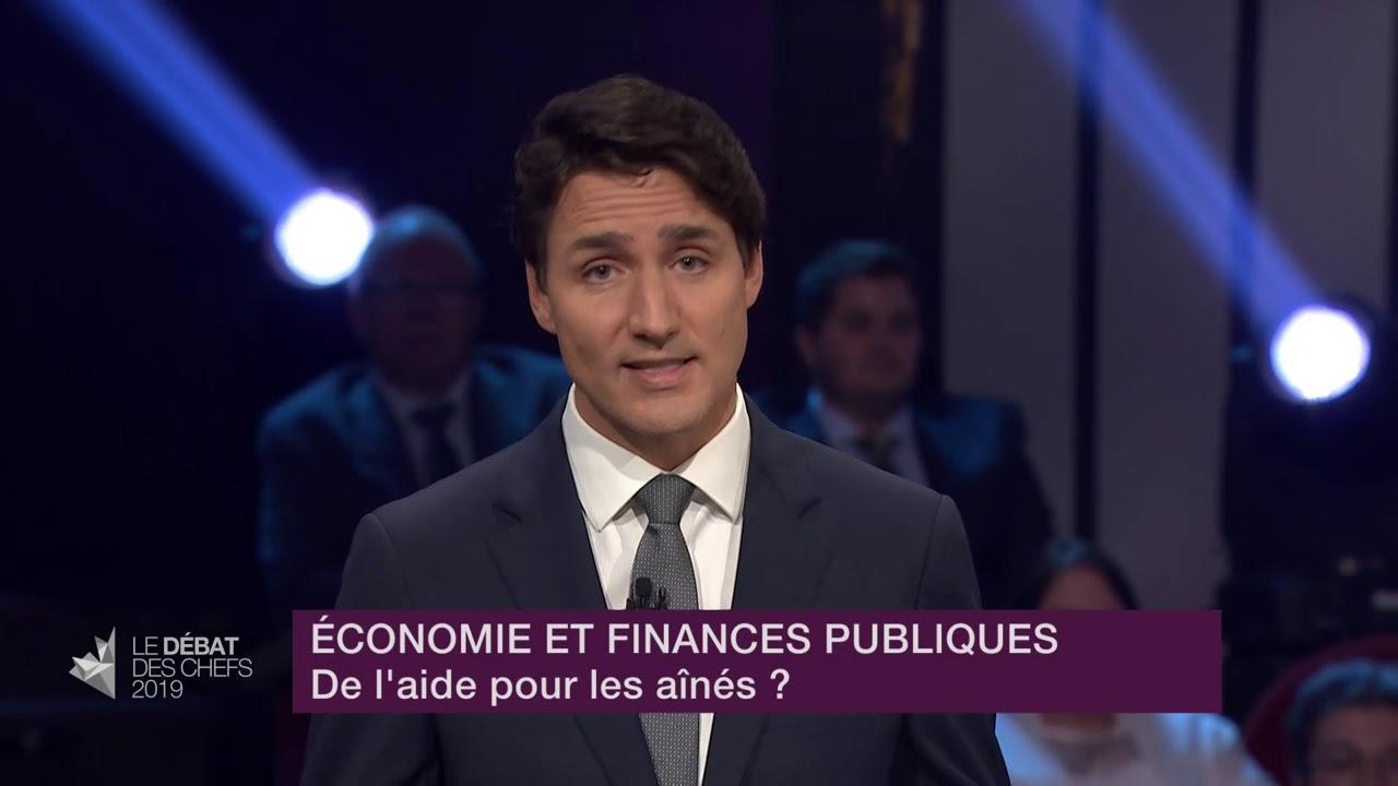 Justin Trudeau répond à la question d'un citoyen sur les mesures pour aider les aînés