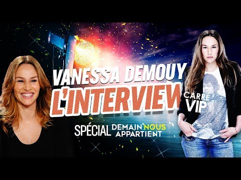 Vanessa Demouy l'interview dans Carré Vip (Spécial Demain Nous Appartient)