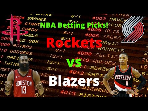 Rockets vs Trail Blazers 8/4 Betting Odds and Prediction💰🔮 |NBA Betting Picks|