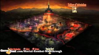 Mortal Kombat - Krypt Guide - Alt. Costume - Sonya (HI 22)
