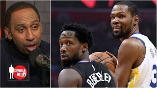 Kevin Durant reminded everybody who he is compared to Patrick Beverley | The Stephen A. Smith Show