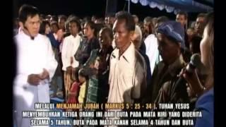 Puji Tuhan ! 3 orang menderita buta disembuhkan Tuhan Yesus. (Yosafat Ministries)