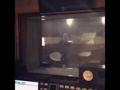 [CJES Instagram] 161008 Junsu in the recording studio