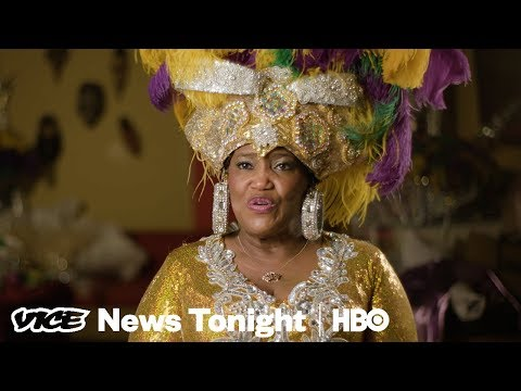 Meet The Designer Making The Royal Costumes For Mardi Gras In Mobile, Alabama (HBO)