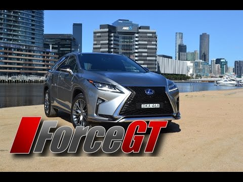 Lexus RX 450h Walk Around & Interior