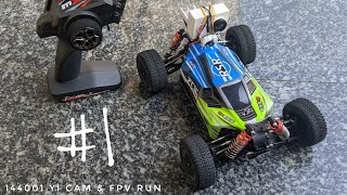 WLToys 144001 FPV RC Car With a Yi Cam (1080p 60fps onboard video)