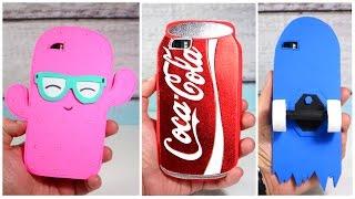 PHONE CASES DIY - EASY CRAFTS FOR CHILDREN