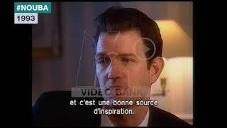 Extrait archives M6 Video Bank //  Chris Isaak - San Francisco Days (Nouba - 1993)