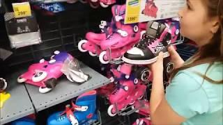 Идем в спортивный магазин за кроссовками