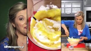 Παγωτό ροδάκινο με γιαούρτι και σοκολάτα