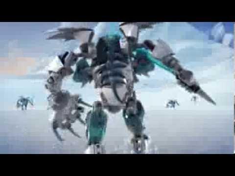 Vidéo LEGO Hero Factory 44011 : Frost Beast