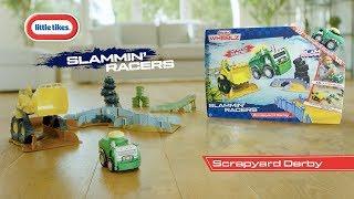Lenktyninė policijos mašina | Slammin' Racers Police Car | Little tikes 647956