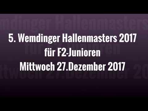 27.12.17 5. WEMDINGER HALLENMASTERS für F2-JUNIOREN - Siegerehrung