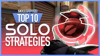 Top 10 OVERPOWERED Solo Strategies for EACH AGENT in Valorant