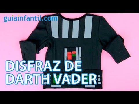 Cómo hacer un disfraz de Darth Vader paso a paso | Manualidades infantiles