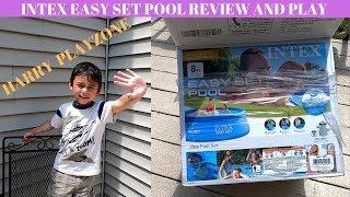 Intex pool installation - Easy Set Pool Review