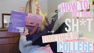 College Organization & Study Tips