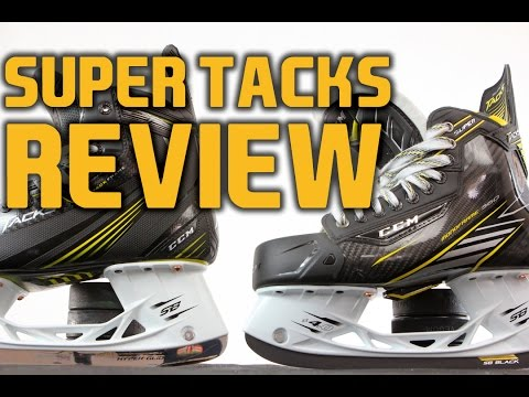 CCM Super Tacks Hockey Skates vs Tacks Skates Review & Comparison