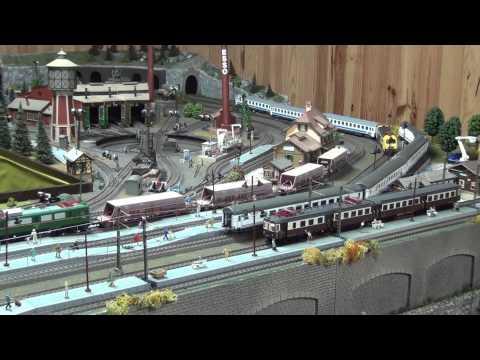 Maqueta 2012 10 Circulación de trenes