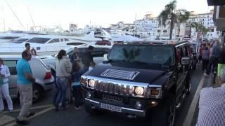 Un dia en Puerto Banus mañana, tarde y noche. Marbella Luxury Weekend 2013