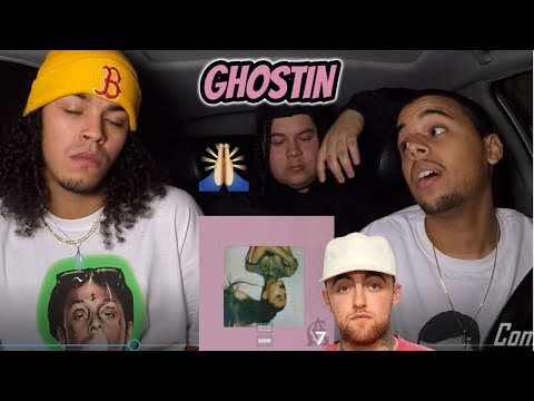 Ariana Grande - Ghostin (Mac Miller Tribute) REACTION REVIEW