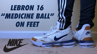 Nike Lebron 16 Air Trainer Medicine Ball Review And On Feet