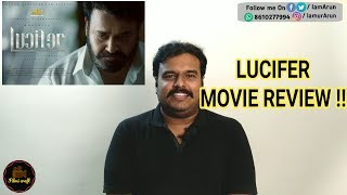 Lucifer Movie Review In Tamil By Filmi Craft | Mohanlal | Prithviraj Sukumaran