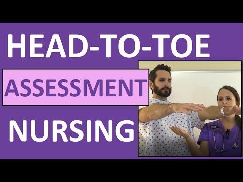 Head-to-Toe Assessment Nursing | Nursing Physical Health Assessment Exam Skills